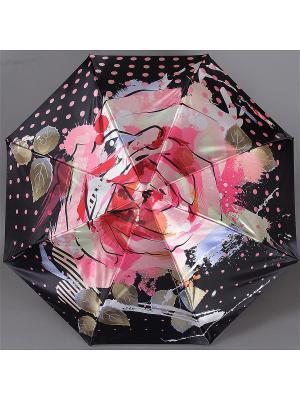 Зонт Trust. Цвет: коралловый, черный