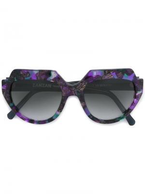 Солнцезащитные очки El Marocco Zanzan. Цвет: чёрный