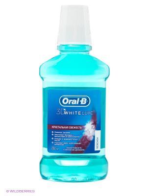 Ополаскиватель полости рта, 3D White Luxe, 250 мл ORAL_B. Цвет: голубой