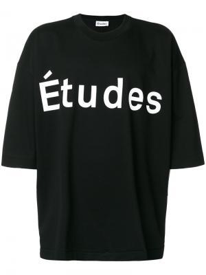 Футболка Desert Études. Цвет: чёрный