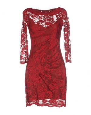Короткое платье OLVI'S. Цвет: розовый