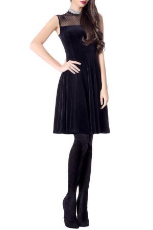 Платье JUNONA. Цвет: black