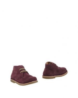 Полусапоги и высокие ботинки OCA-LOCA. Цвет: розовато-лиловый