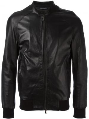 Куртка на молнии Grey Daniele Alessandrini. Цвет: чёрный