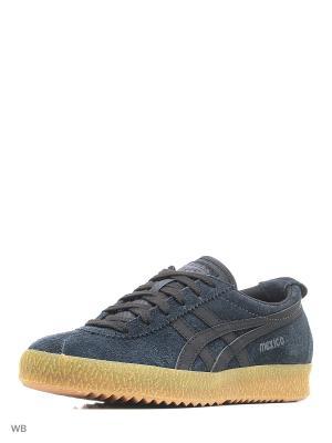 Спортивная обувь MEXICO DELEGATION ONITSUKA TIGER. Цвет: антрацитовый