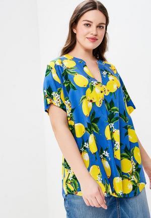 Блуза Indiano Natural. Цвет: синий