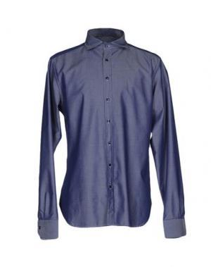 Pубашка EXIBIT. Цвет: темно-синий