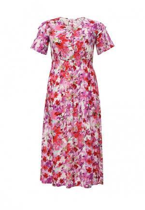 Платье Lina. Цвет: фиолетовый