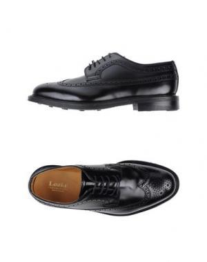 Обувь на шнурках LOAKE. Цвет: черный