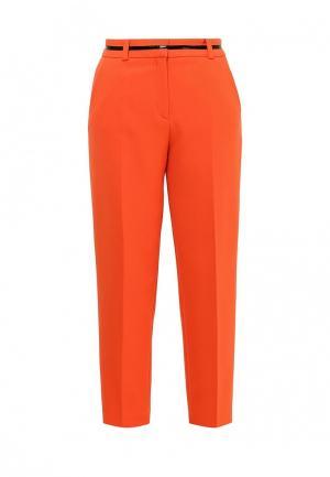 Брюки Hugo Boss. Цвет: оранжевый