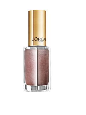 Лак для ногтей Color Riche, оттенок 106, Розовое Шампанское, 5 мл L'Oreal Paris. Цвет: лиловый