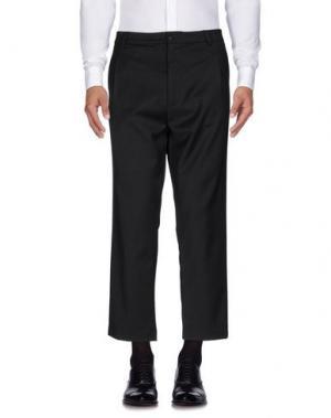 Повседневные брюки ..,BEAUCOUP. Цвет: стальной серый