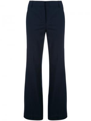 Длинные расклешенные брюки Dondup. Цвет: синий