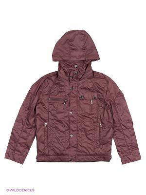 Куртка MES AMI. Цвет: бордовый