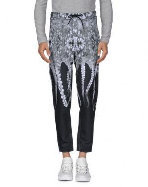 Повседневные брюки OCTOPUS. Цвет: темно-зеленый
