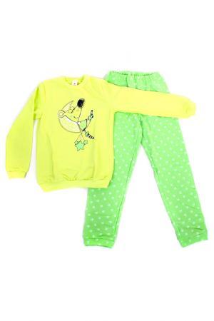 Пижама СВIТАНАК. Цвет: лимонный, салатовый