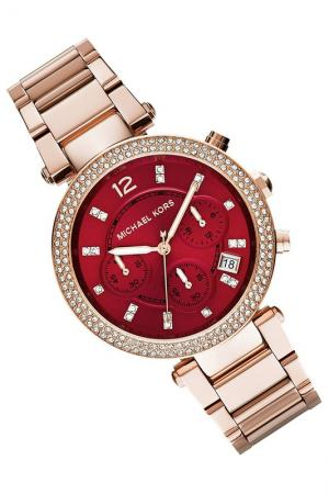 Watch Michael Kors. Цвет: gold, red