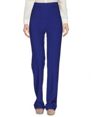Повседневные брюки LA KORE. Цвет: ярко-синий