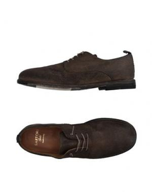 Обувь на шнурках SARTORI GOLD. Цвет: хаки