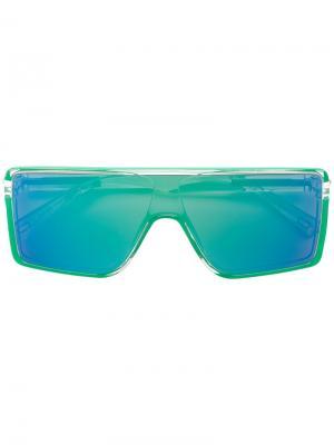 Солнцезащитные очки 220/S Marc Jacobs Eyewear. Цвет: зелёный