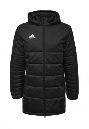 Куртка утепленная adidas Performance. Цвет: черный
