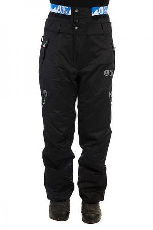 Штаны сноубордические  Contrast Black Picture Organic. Цвет: черный