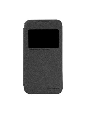 HTC Desire 320 Nillkin Sparkle leather case. Цвет: черный