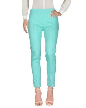 Повседневные брюки CRISTINA ROCCA. Цвет: светло-зеленый