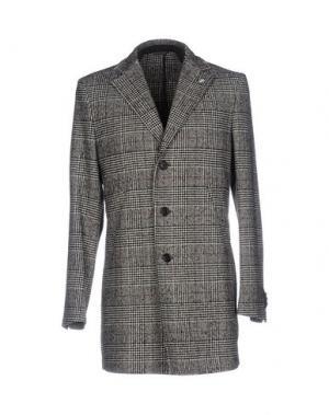Пальто MANUEL RITZ. Цвет: черный