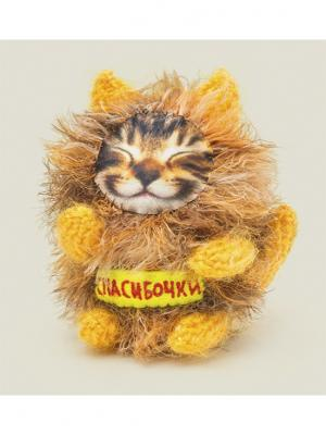Игрушка Котик Спасибочки Бюро находок. Цвет: рыжий