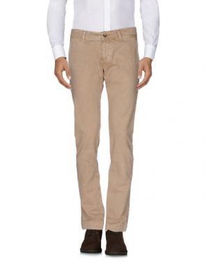 Повседневные брюки PURE. Цвет: песочный