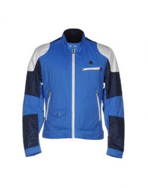 Куртка PIERO GUIDI. Цвет: синий