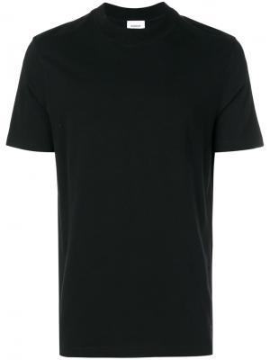 Классическая футболка Dondup. Цвет: чёрный