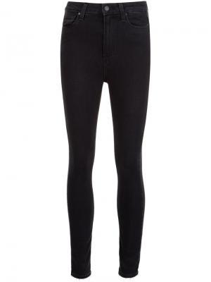 Укороченные джинсы Paige. Цвет: чёрный
