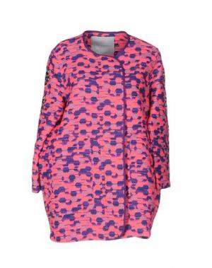 Легкое пальто GIADA BENINCASA. Цвет: фуксия
