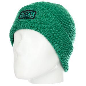 Шапка  Csfu Support Hunter Green Independent. Цвет: зеленый