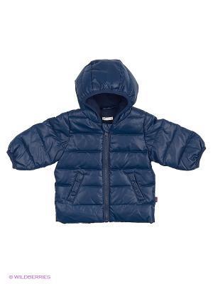 Куртка United Colors of Benetton. Цвет: синий, черный, темно-синий