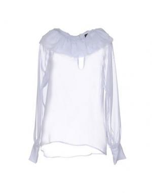 Блузка NORA BARTH. Цвет: белый