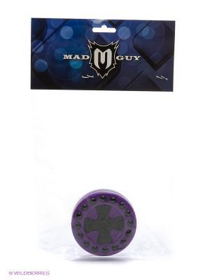 Шайба для стрит-хоккея MAD GUY. Цвет: черный, фиолетовый