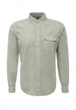 Рубашка Gap. Цвет: зеленый