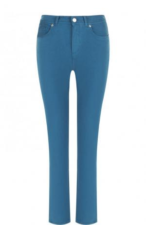 Укороченные джинсы Loro Piana. Цвет: бирюзовый