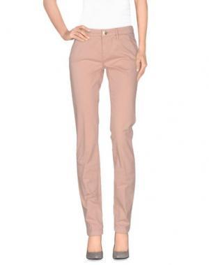 Повседневные брюки CAMOUFLAGE AR AND J.. Цвет: телесный