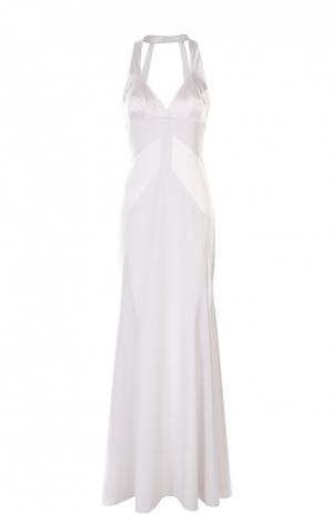 Вечернее платье Rubin Singer. Цвет: белый