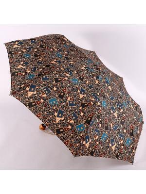 Зонт Airton. Цвет: бирюзовый, терракотовый