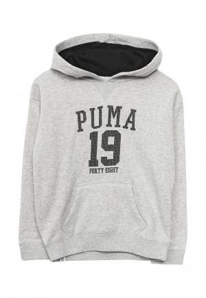 Худи Puma. Цвет: серый