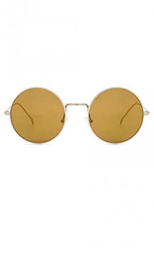 Солнцезащитные очки porto cervo illesteva. Цвет: металлический серебряный