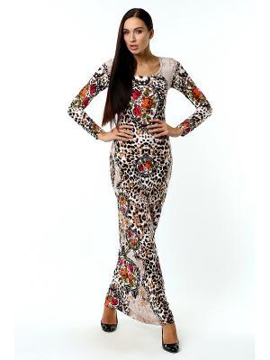 Длинное платье Цветочные пяльца ANASTASIA PETROVA
