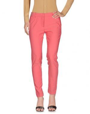 Повседневные брюки PERFECTION. Цвет: коралловый