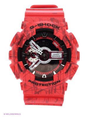 Часы G-Shock GA-110SL-4A CASIO. Цвет: красный