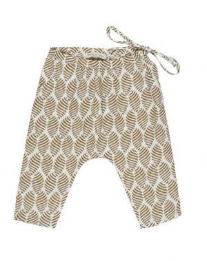 Повседневные брюки BABE & TESS. Цвет: хаки